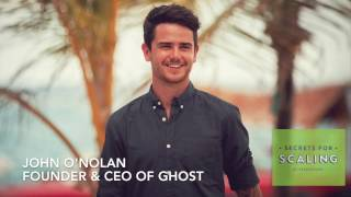 Interview with John O'Nolan, Co-Founder & CEO of Ghost