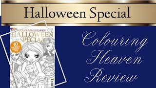 Colouring Heaven Halloween Special Review, Featuring Illustrations From Jasmine Becket-Griffith