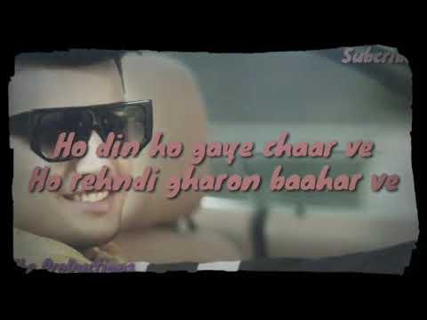 Kalli Ho Gai Song By Jass Manak Lyrics