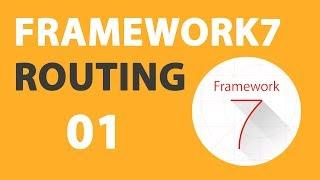 01 Framework7 V2 Router Tutorial: Basics (with Demo/Example)