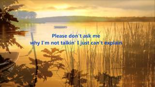 John Farnham - Please Don't Ask Me w/ Lyrics