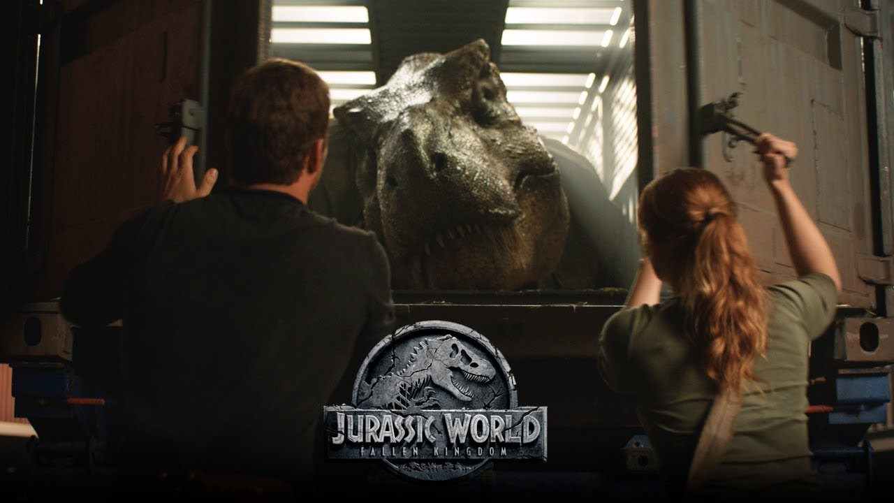 Trailer för Jurassic World: Fallen Kingdom