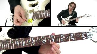 Steve Vai Guitar Lesson - Bending Notes - Alien Guitar Secrets: Passion & Warfare