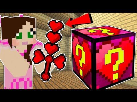 , title : 'Minecraft: HEART LUCKY BLOCK!!! (EARMUFFS, HEART WEAPONS, & ARMOR!) Mod Showcase'