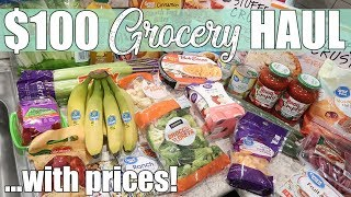$100 Walmart Grocery Haul for Family of 4 | February 2020