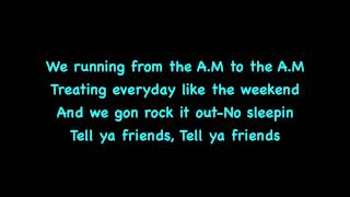 Jay Sean-Break Of Dawn On Screen Lyrics Ft Busta Rhymes