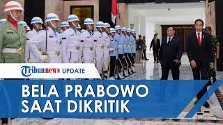 Jokowi Bela Prabowo yang Dikritik Sering ke Luar Negeri: Yang Tanya Berarti Enggak Ngerti Diplomasi