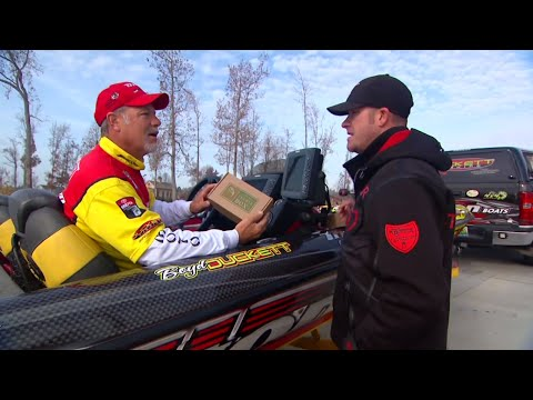 Bass Dr. episode with Todd Hollowell and Boyd Duckett featuring Mystery Tackle Box