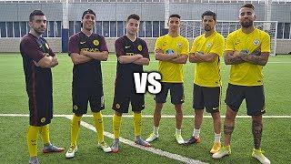 YOUTUBERS vs MANCHESTER CITY - RETOS DE FUTBOL!!