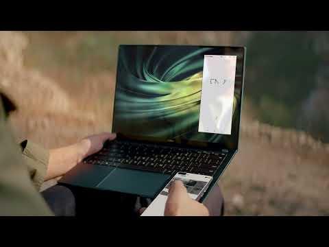 Huawei MateBook X Pro 53011WQR notebook, szürke, US kiosztás + Windows 10 Home