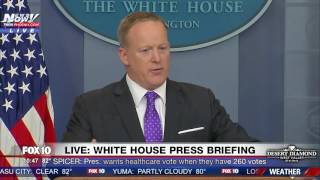 "SPICER: ""HOLD ON. LISTEN"" To Reporter After Demanding Answers To Michael Flynn FNN"