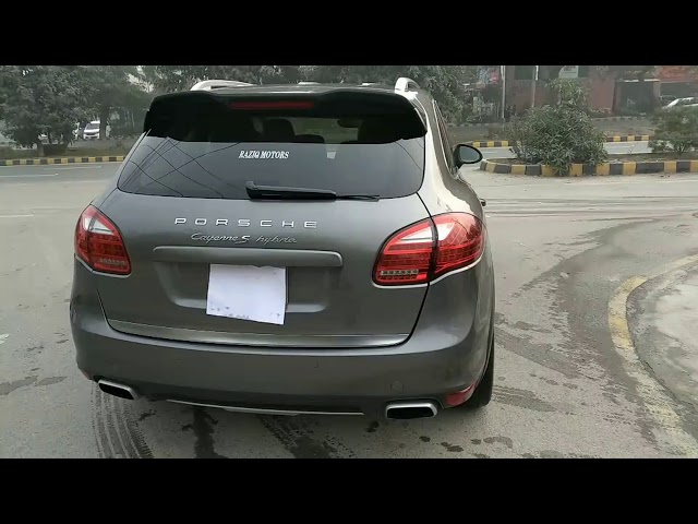 Porsche Cayenne S E-Hybrid 2013 for Sale in Lahore