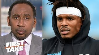 'I've been losing faith in Cam Newton' – Stephen A. | First Take