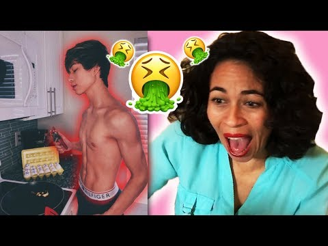 READING MY HATE COMMENTS TO MY MOM (emotional 😭) *SHE FREAKED*