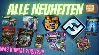 FFG Neuheiten - Die neuen Hype Titel dabei? - Brettspiel Neuheiten 2021/22