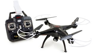 Syma X5SW Wifi FPV Real-time 2.4G QuadCopter Unboxing