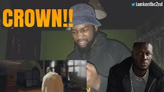 STORMZY   CROWN (OFFICIAL PERFORMANCE VIDEO) [REACTION]