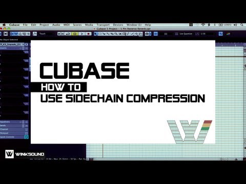 Cubase: How To Use Sidechain Compression | WinkSound