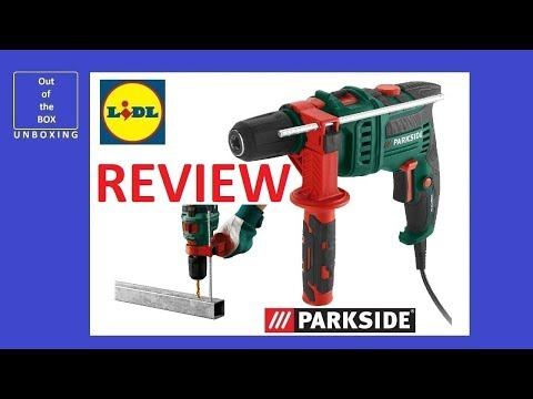 PARKSIDE Hammer Drill WHICH TOOL IS BEST FOR WORKING