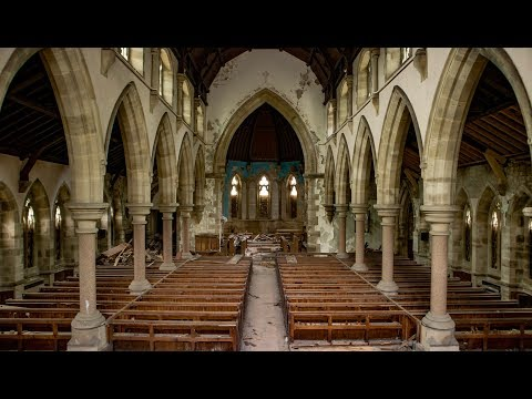 Beautiful Abandoned Church with Old Features (Religious Decline #1) - URBEX UK