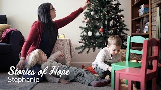 Stephanie's Story of Hope: Celebrating Christmas Out of Homelessness