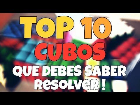 TOP 10 CUBOS  básicos que DEBES saber RESOLVER!!!! | Del Rubikeo
