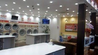 Nicest Coin Laundry in the World in Japan?