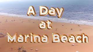 A Day at Marina Beach | World second longest Beach  |Virtual tour of Marina Beach from kid2teentv