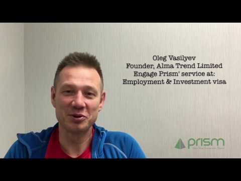 Client Testimonails on Prism Visa Services