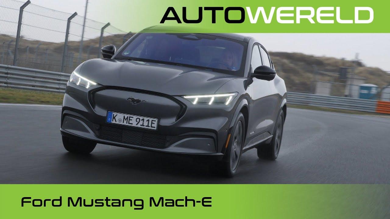 Knallen met de elektrische Ford Mustang Mach-E (2021) review met  Stéphane Kox