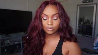 How To Get Burgundy / Wine Color Hair Without Damaging Your Hair