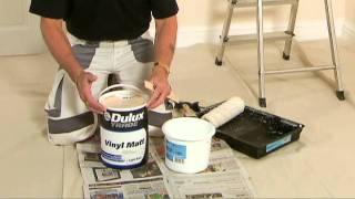 Painting walls & ceilings