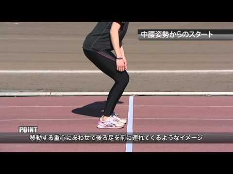 【土江コーチ流】スタートで重要な重心移動を身に着けよう!