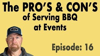Making money with your BBQ in the event space...or not.