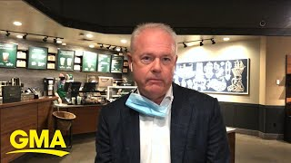 Starbucks CEO explains how it is safely reopening stores l GMA