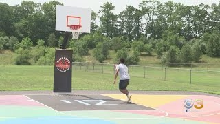 Camden County Native Donates Court To Hometown Aimed At Helping Kids Stay Fit, Out Of Trouble