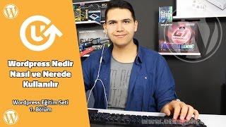 WordpressNedir-WordpressEğitimSeti1.Bölüm-WordpressTutorial