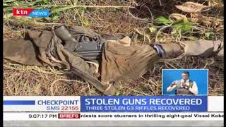 stolen rifles and ammunition recovered
