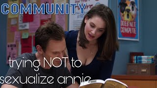Community Compilation - Annie NOT being sexualized