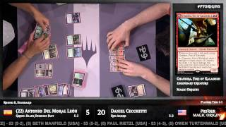 Pro Tour Magic Origins Round 8 (Standard): Sam Black vs. Kentaro Yamamoto