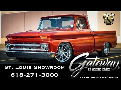 Video of '66 Chevrolet C10 Offered by Gateway Classic Cars - St. Louis - QB7E