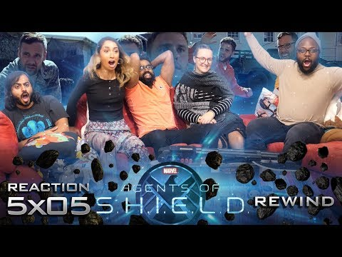 Agents of Shield - 5x5 Rewind - Group Reaction