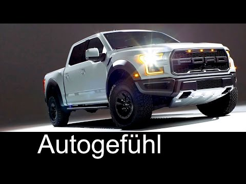 2017 Ford Raptor Exterior Interior preview F-150 - Autogefühl