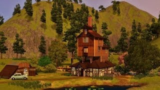 Sims 3 - Harry Potter/Wesley family house