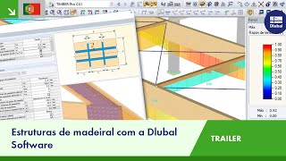 Trailer: Estruturas de madeiral com a Dlubal Software