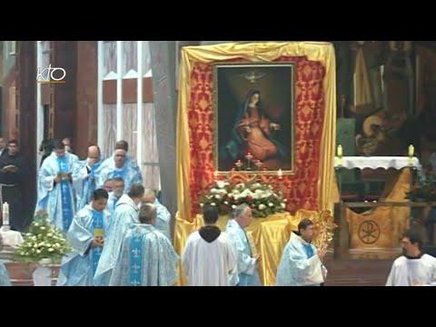 Messe en la Basilique de l'Annonciation de Nazareth
