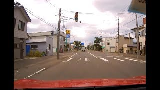 ドラレコが捉えた!北海道地震による大停電 街中がパニックに