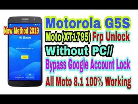 Download Motorola Moto G5 Plus Xt1686 Frp Unlock Or Google