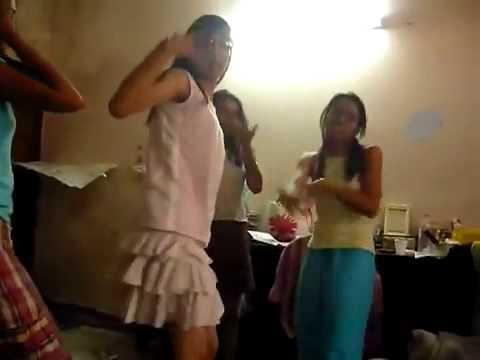 sexy hot drunken girls stripping and dancing