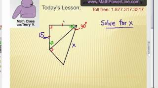 Viewer Challenge: Special Right Triangles #1
